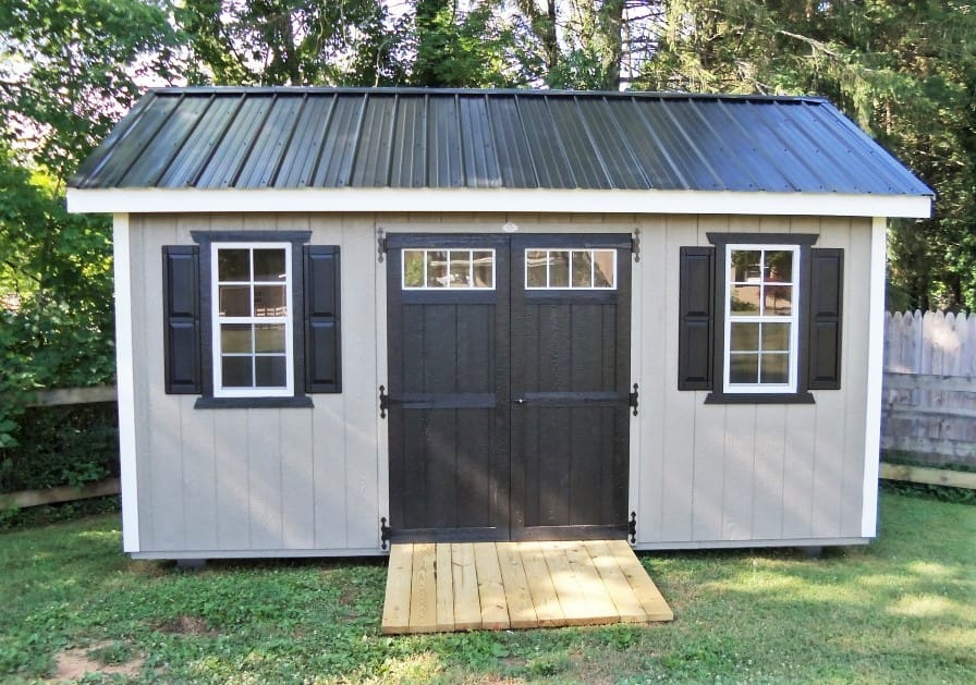 Permit for a shed
