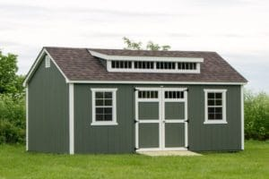 12x20 Storage Shed with Dormer