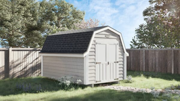 A byler barn shed in the backyard from Ulrich