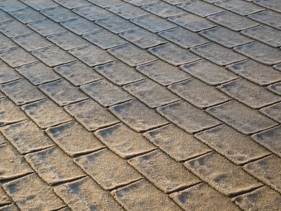 Shingle Shed Roof -- 3-tab shingles
