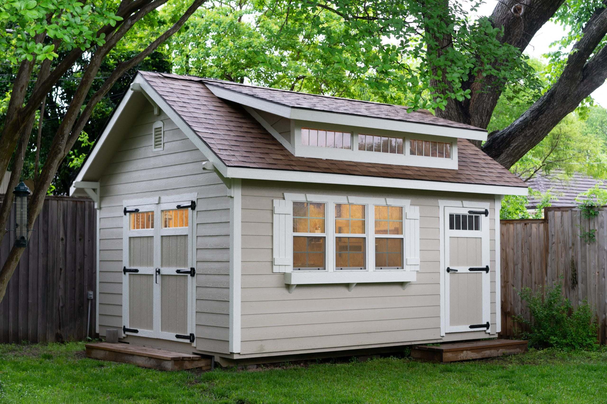 Architect Chooses Elite Shed to Match Home