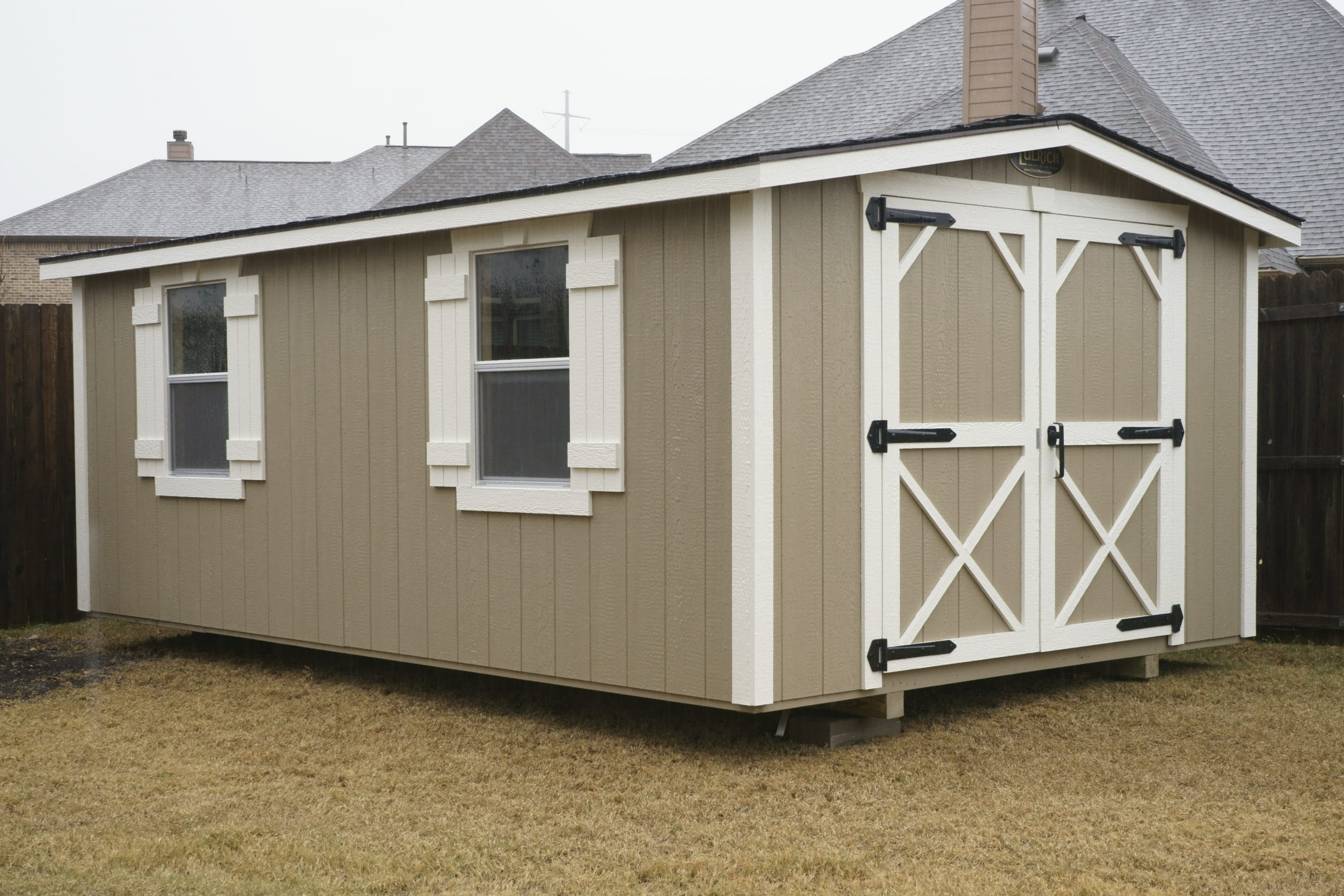 HOA Compliant Shed