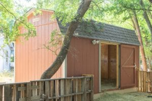 goat barn shed
