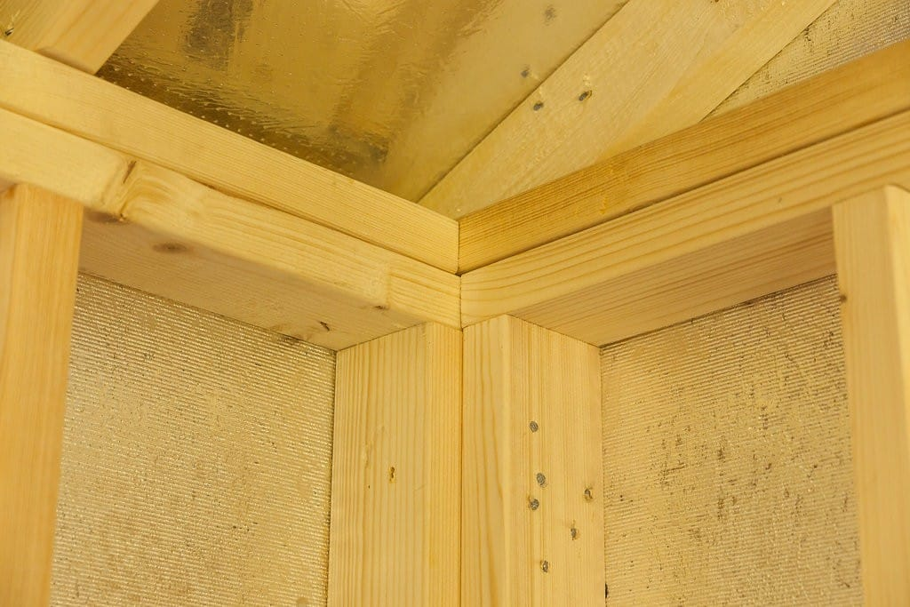 quality shed framing