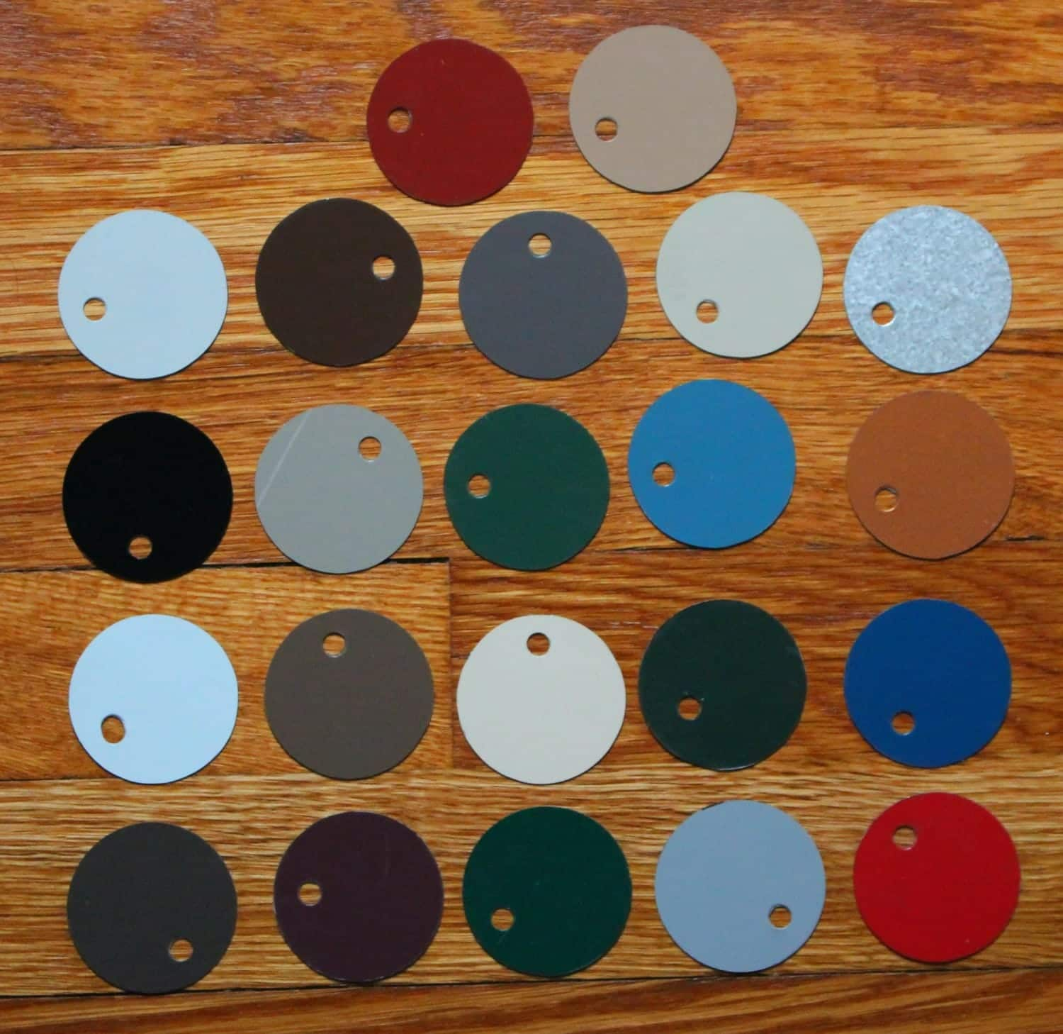 Metal Roof Color Swatches