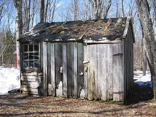 Shed Maintanance -- oops!