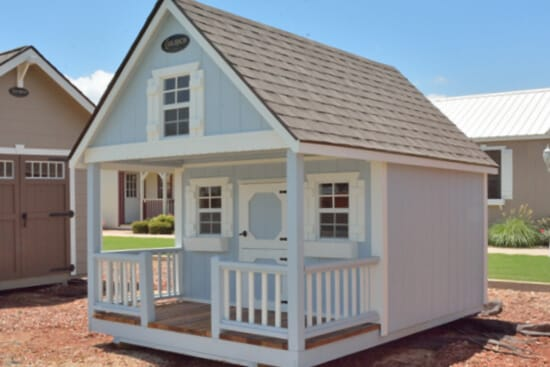 Hideaway Playhouse for Backyard