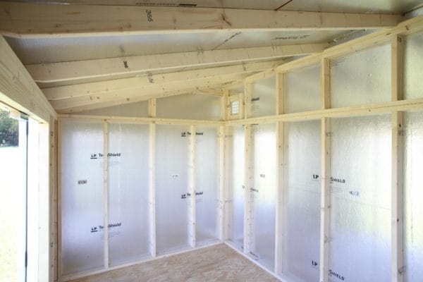 Lean - To Shed Inside