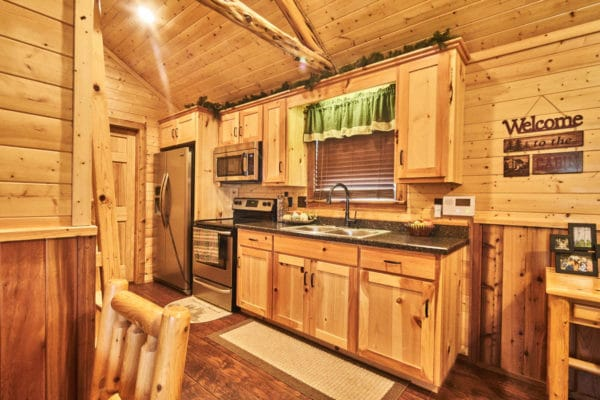Bear Lake Cabin Kitchen
