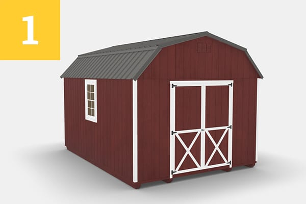 Red Shed - Top 5 Shed Colors