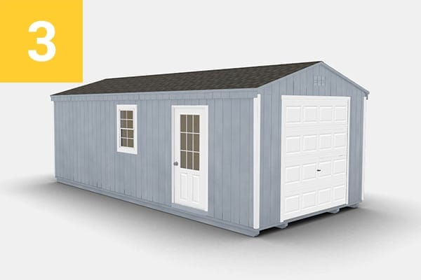 Top 5 Shed Colors - Cape Cod Gray