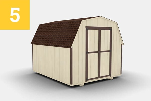 Shed color - Almond