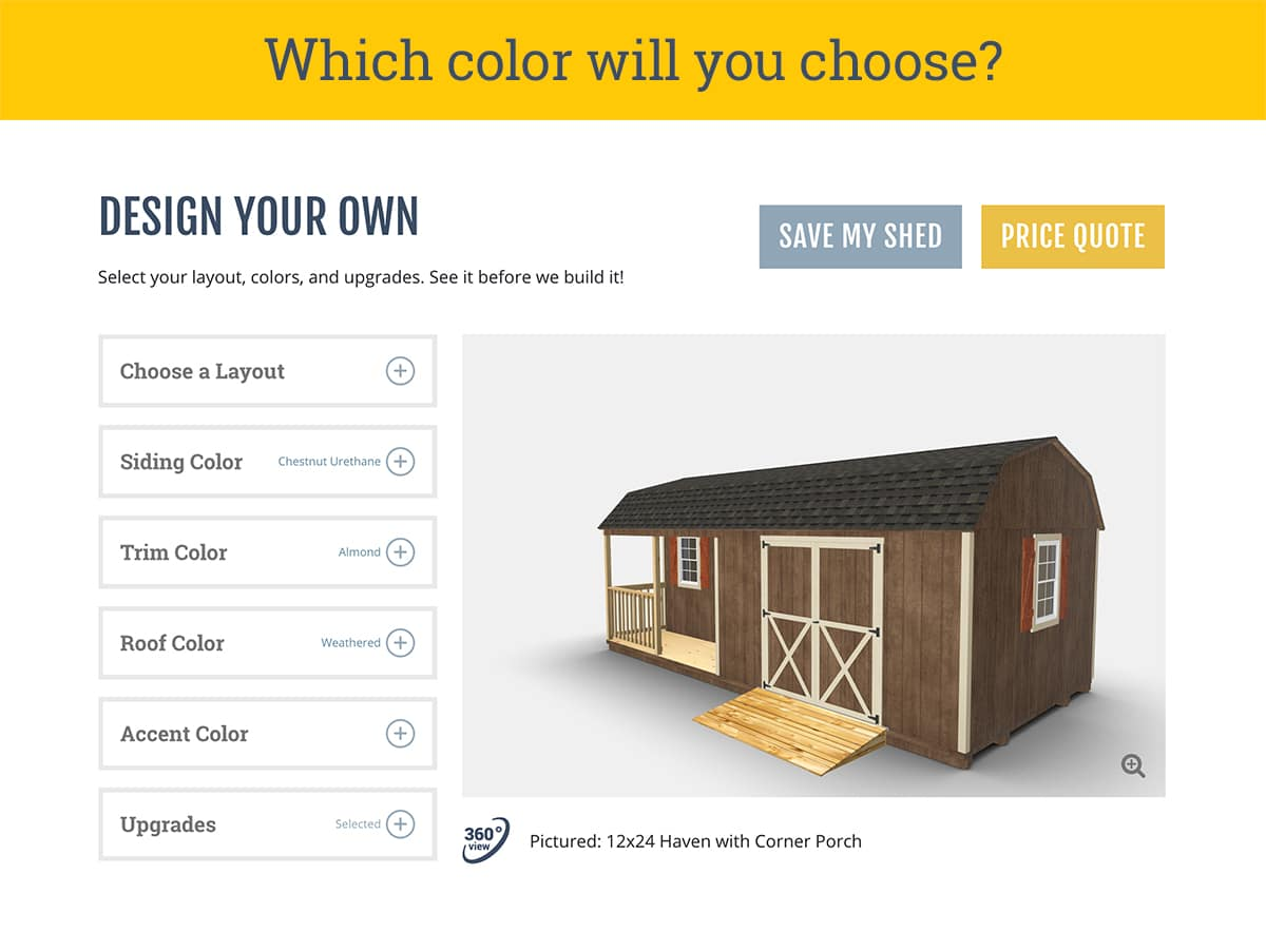 Shed Colors