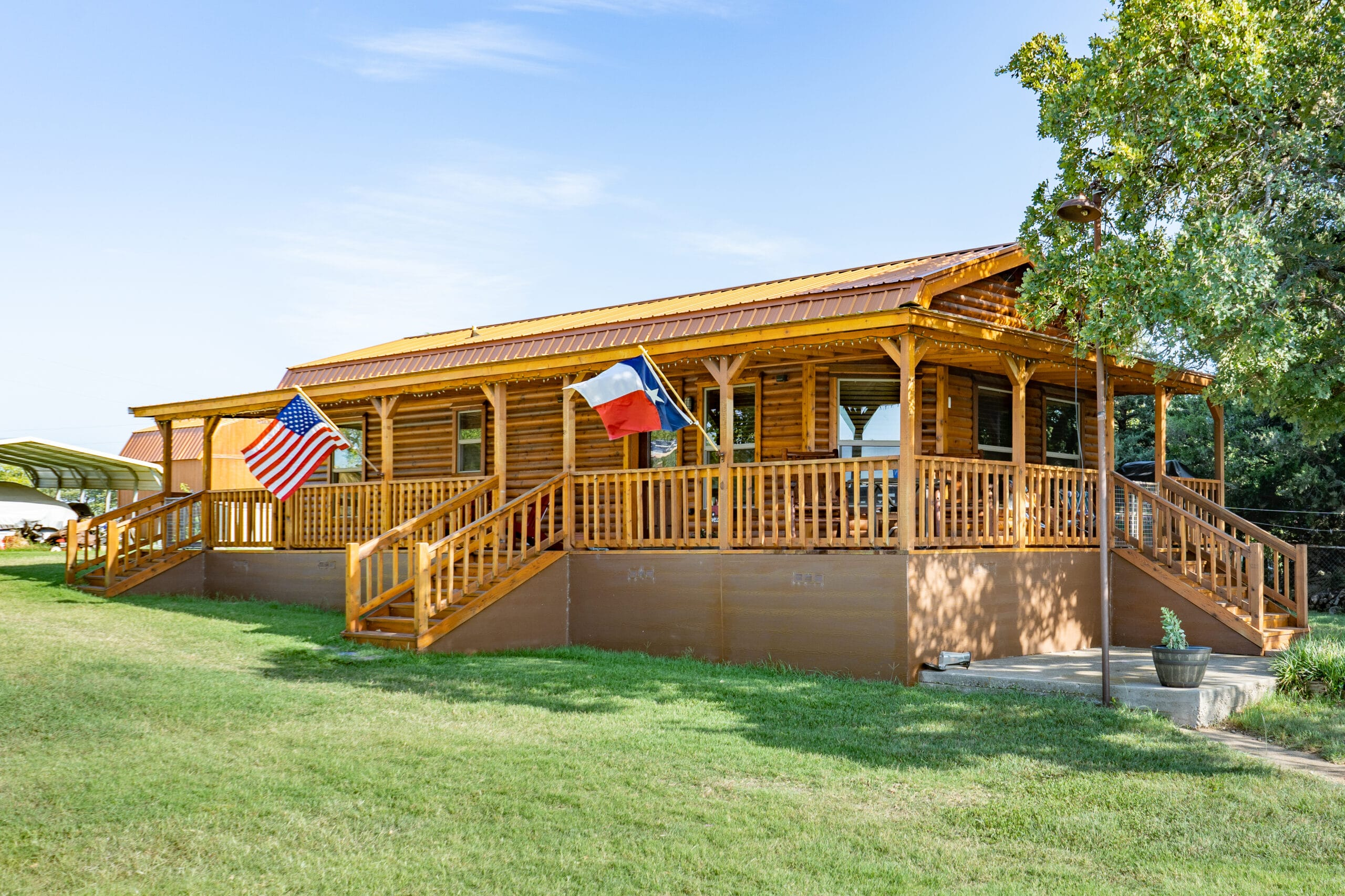 Big Porch is Awesome on Their Lake House