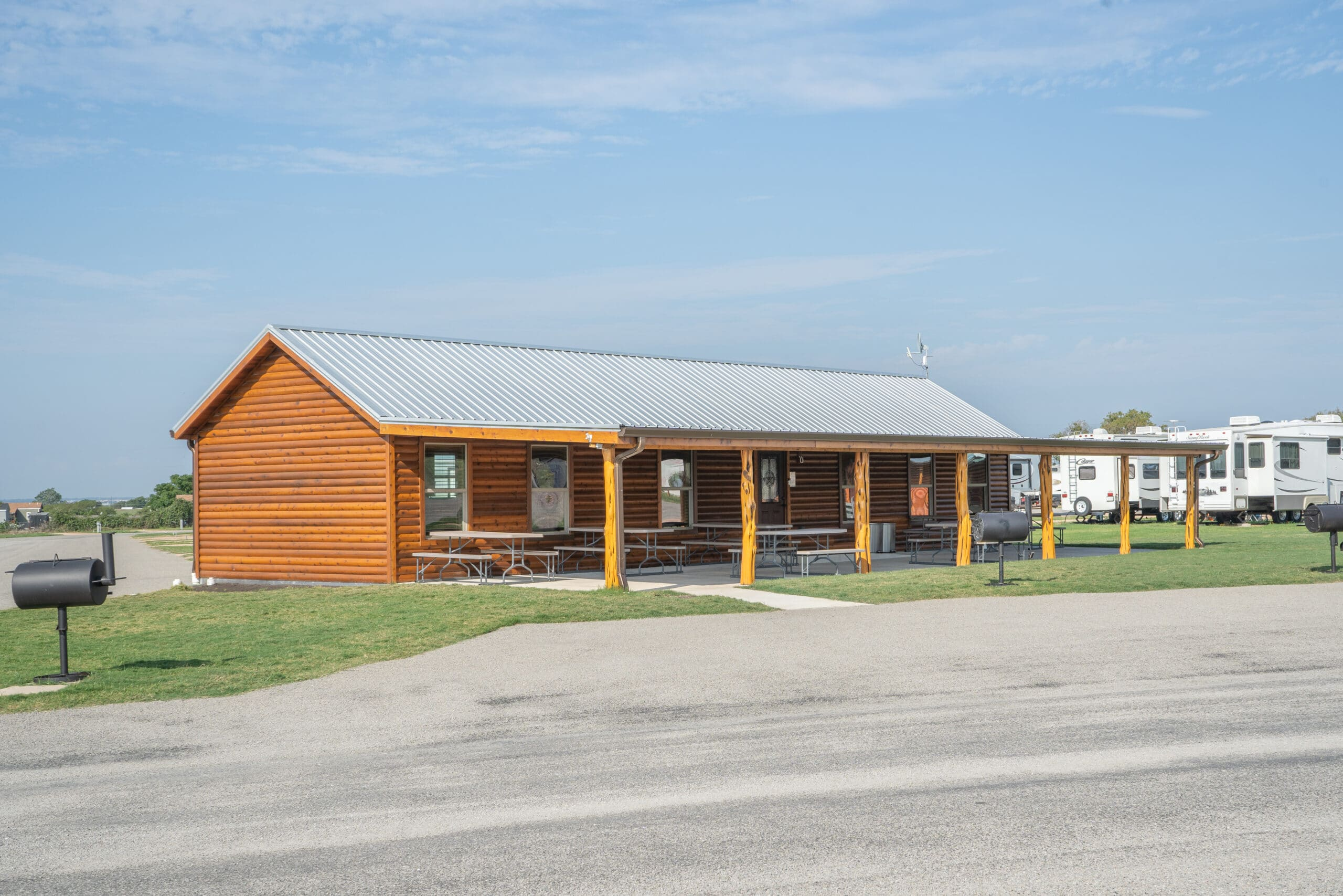Campers Love This RV Park Cabin